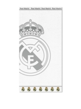 Groß Jacquard 100% Baumwolle Real Madrid Badetuch Ronaldo Strandtuch EDEL NEU Weiß 2013 - 1