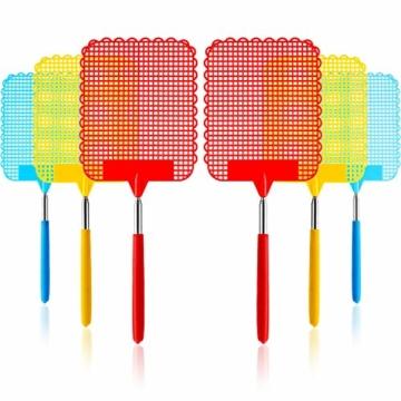 Guilty Gadgets Teleskop-Fliegenklatsche, ausziehbar, Insektenfänger aus flexiblem Kunststoff - 2