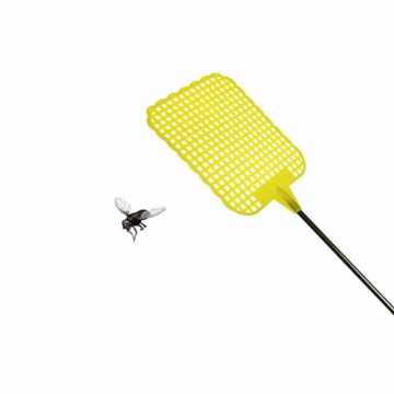 Guilty Gadgets Teleskop-Fliegenklatsche, ausziehbar, Insektenfänger aus flexiblem Kunststoff - 4
