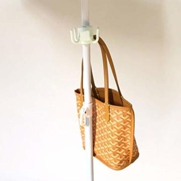 Henan Haken für Strandschirme, zum Aufhängen von Handtüchern, Taschen, Hüten - 9