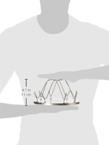 Highlander Camping-Toaster aus Edelstahl für 4 Schreiben Brot, CP115 - 2
