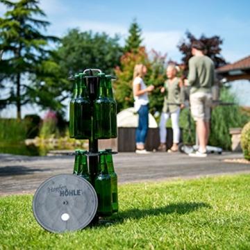 HopfenHöhle Lift - Das Original: Outdoor Erdloch Bierkühler - Made in Germany! Mit integriertem halbautomatischem Hebesystem! - 2
