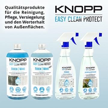 Knopp Grünbelagentferner, Algen- und Moosentferner, ideal auch für Holz und Kunststoff, gebrauchsfertig, 500ml - 3