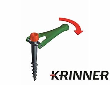 Krinner 2er Set Bodendübel Vario Drill (Wiese; Camping; Strand) Sonnenschirmständer - 4