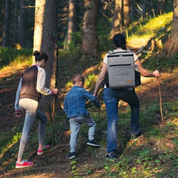 Lifewit 24L Kühl Rucksack Kühlrucksack Kühltasche Picknicktasche Groß Isoliert Cooler Bag Männer Frauen für Strand/Picknick/Camping/BBQ/Wandern - 2