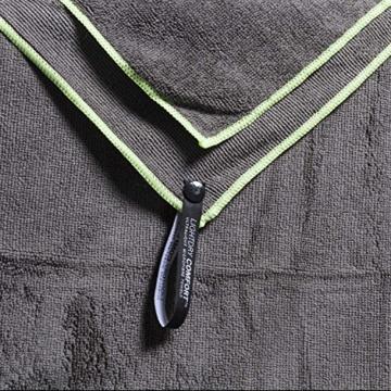 LightDry Original Mikrofaser Backpack Sporthandtuch für Damen und Herren Reisehandtuch extrem schnell trocknend Sport Strand und Badehandtuch Saugfähig, leicht & antibakteriell Verschiedene Größen - 3