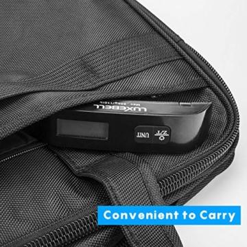 Luxebell Digitale Kofferwaage Gepäckwaage, Travel Kofferwaage T-förmigen Hängewaage Mit Temperaturanzeige, 50 kg Kapazität, Schwarz - 4