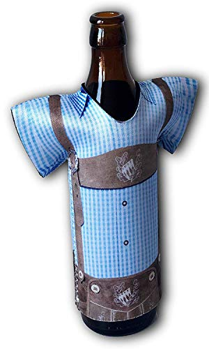Madl & Buam Bierflaschen Kühler, Bierkühler für 0,3l und 0,5l Flaschen aus Neopren, Party- und Biergadget im Duopack - 4