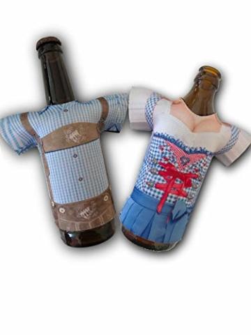 Madl & Buam Bierflaschen Kühler, Bierkühler für 0,3l und 0,5l Flaschen aus Neopren, Party- und Biergadget im Duopack - 1