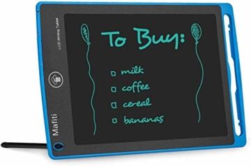 mafiti LCD Schreibtafel, Löschbare Elektronische Digitale Zeichenblock Doodle Board, Writing Tablet, Geschenk für Kinder Erwachsene Home School Office (8,5 Zoll Blau) - 4
