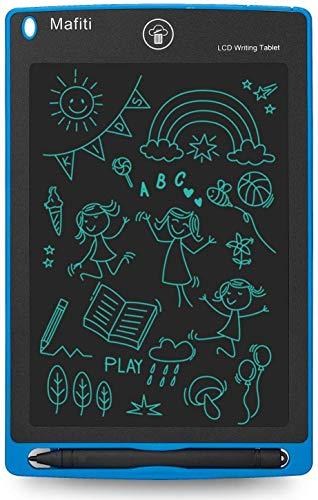 mafiti LCD Schreibtafel, Löschbare Elektronische Digitale Zeichenblock Doodle Board, Writing Tablet, Geschenk für Kinder Erwachsene Home School Office (8,5 Zoll Blau) - 6