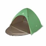 mapuera große Pop up Strandmuschel zum Verschließen Cabana rapida - UV 50+ Sonnenschutz, für 2-4 Personen, in Österreich entwickelt (minzgrün) - 1