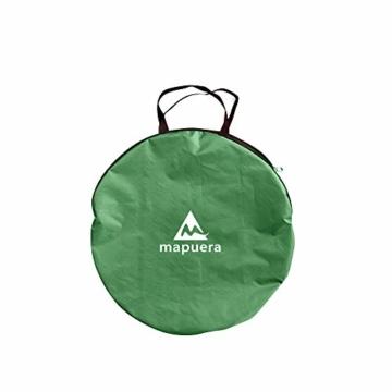 mapuera große Pop up Strandmuschel zum Verschließen Cabana rapida - UV 50+ Sonnenschutz, für 2-4 Personen, in Österreich entwickelt (minzgrün) - 7