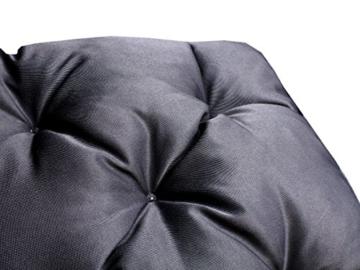 Meerweh Rückenteil für Bank ca. 150 x 98 x 10 cm Auflage, Grau, 20061 - 2
