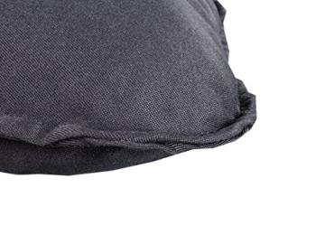 Meerweh Rückenteil für Bank ca. 150 x 98 x 10 cm Auflage, Grau, 20061 - 3