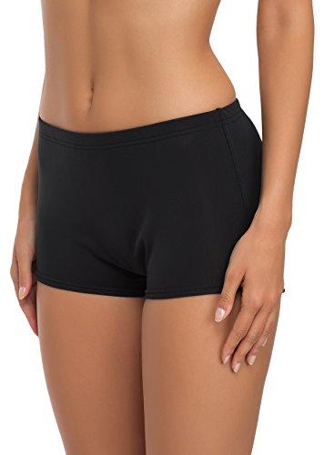 Merry Style Damen Badeshorts Bikinihose Modell L23L1 (Schwarz (9240), 36) - 1