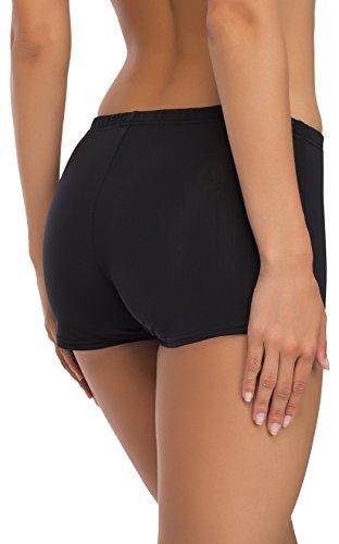 Merry Style Damen Badeshorts Bikinihose Modell L23L1 (Schwarz (9240), 44) - 3