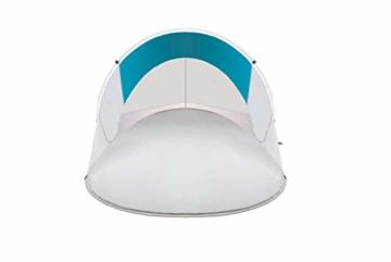 MT MALATEC Strandmuschel Pop Up UV Schutz Wurfzelt leicht Sonnenzelt 10178, Größe:220x120x90 cm - 5