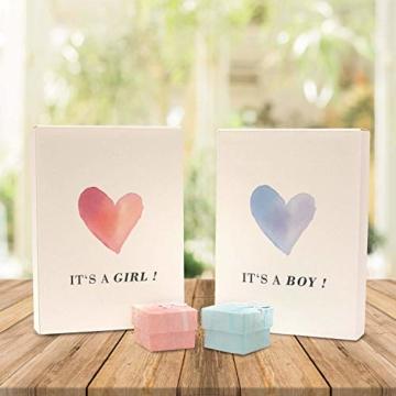 Nasenklammer zum Windeln wechseln - Süßes Geschenk zur Geburt & Lacher auf der Babyparty - Geschenkidee für werdende Mama und Papa - Zur Geburt und Schwangerschaft des neugeborenen Babys - Mädchen - 6