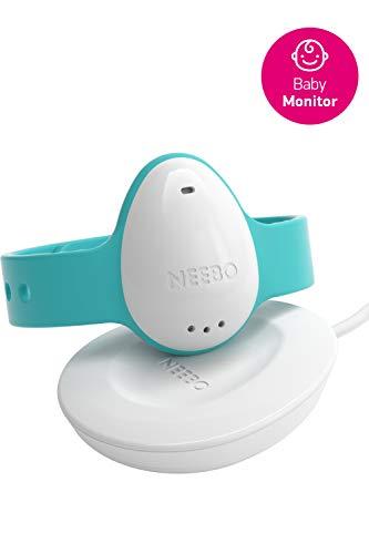 Neebo Sensor-Armband zur Atmungsüberwachung bei Babys & Kindern | misst Herzfrequenz, Sauerstoffsättigung, Temperatur & Schlafdauer | per Bluetooth auf iOS App (Powered by Telekom) - 1
