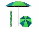 OAKNO Tragbarer leichter Garten-Sonnenschirm, der Sonnenschutz-Strand-Patio-im Freien kippende Kippschirm-Überdachung, Wärmeisolierung, Anti-UV-Funktion, Fischen wesentlich faltet - 1