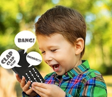 Oramics Soundmaschine mit 16 unterschiedlichen Geräuschen, Scherzartikel, Gadget, Furzmaschine, Geräuschmaschine für viele Anlässe wie Familienfeiern, Party, Geburtstag, Fasching, Konfirmation, Schule, Büro, Strand als tolle Geschenkidee - 3