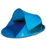 outdoorer Pop up Strandmuschel Zack II blau - Wurf-Strandmuschel mit UV-Schutz 60, Sonnenzelt als Schattenspender am Strand - 1