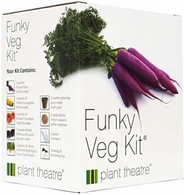 Plant Theatre Flippiges Gemüse-Kit - 5 außergewöhnliche Gemüse zum Selbstzüchten - 1