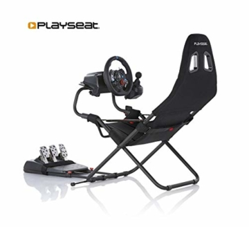 Playseat Challenge Schwarz - 10