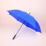 PZXY Regenschirm Reine Farbe gerade Rute 8 Knochen Windschutzscheibe Business Touch Tuch manuelle Führungsholm Golfschirm 96 * 121 * 148 cm - 1
