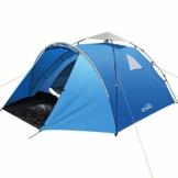 Qomolo Camping Zelte für 3-4 Personen, zelte Pop Up Wasserdicht Winddicht Sonnenschutz Schnell Set-up Wurfzelte für Camping Wandern Outdoor Aktivitäten - 1