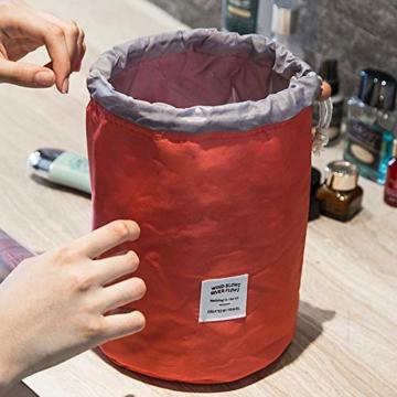 Reise-Fass-Kosmetiktasche Multifunktion-kosmetisch-Tasche-Toilettenartikel-Aktentasche,Patent Nr. 004047397-0001 - 7