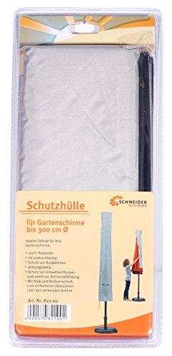 Schneider Schutzhülle für Sonnenschirm, silber, bis ca. 300 cm Ø - 2