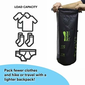 Scrubba Wash Bag 2.0 - Outdoor Camping Waschmaschine - Waschtasche und Waschbeutel - 5
