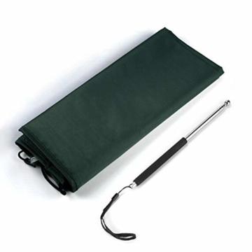 Sekey Schutzhülle für DoppelSonnenschirm, Abdeckhauben für Sonnenschirm,100% Polyester, Grün - 6