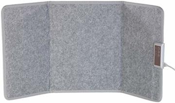 Sichler Haushaltsgeräte IR Panel: Faltbares Fern-Infrarot-Heizpanel, bis 65 °C, 165 Watt, Größe M (Infrarot Panel) - 4
