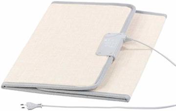 Sichler Haushaltsgeräte IR Panel: Faltbares Fern-Infrarot-Heizpanel, bis 65 °C, 165 Watt, Größe M (Infrarot Panel) - 5