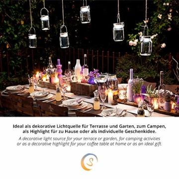 SONNENGLAS Classic 1000ml | Original Solarlampe/Solar-Laterne im Einmachglas aus Südafrika (inkl. USB) | warmweiß | Fair Trade | Bekannt aus Pro7 Galileo - 2