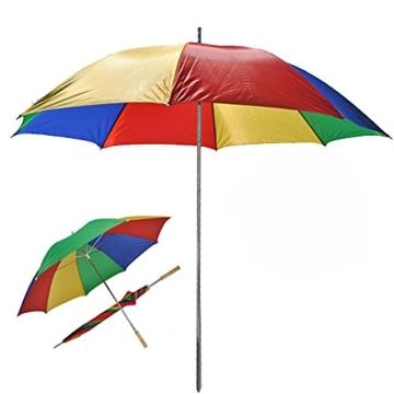 Sonnenschirm 130cm von JEMIDI Durchmesser Strand Schirm Strandschirm Sonnenschirm Sonnenschutz tragbar - 4