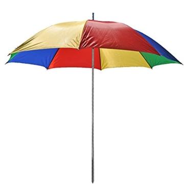 Sonnenschirm 130cm von JEMIDI Durchmesser Strand Schirm Strandschirm Sonnenschirm Sonnenschutz tragbar - 5