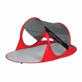 SportVida Strandmuschel Pop Up Wurfzelt Popup | Selbstaufbauend Strandzelt mit Tragegriff | Automatisch Portable | Sonnenschutz Windschutz 190x86x120cm (SV-WS0009) - 1