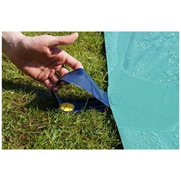 TEAM MAGNUS Wasserrutsche XXL (950x160cm) - Slip und Slide aus strapazierfähigem 0.22mm PVC - 7