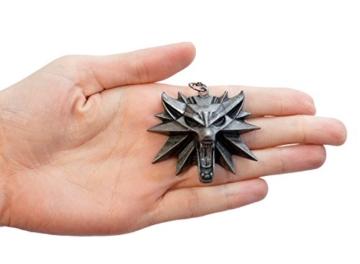 The Witcher 3Wild Hunt- Wilder Wolfskopf Anhänger / Medaillon- Videospiel-Memorabilia für Herren - 5