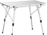 Uquip Variety M Aluminium Falttisch für 4 Personen Höhenverstellbar (89x53cm) - 1