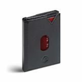 VAN BEEKEN Mini Kartenetui für 12-14 Karten - Leder Geldbeutel Geldbörse für Damen und Herren - Slim Wallet Kreditkartenetui mit RFID Schutz - 1