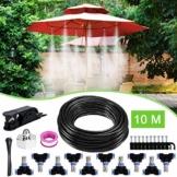 Weeygo Garten Automatische Bewässerung, 10M DIY Bewässerungssystem für Outdoor Kühlung Auf Gewächshausgarten, Sonnenschirme, Trampolin, Balkon - 1