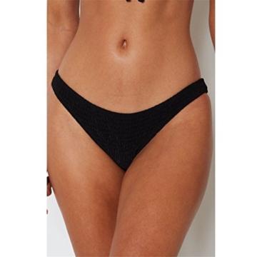 Women Two-Piece Bikini Swimsuit Schlinge Typ Bikini,Loveso Tankini 2018 Bikini Push-Up Gepolsterter BH Badeanzug, der sexy Frauen-Feste Bügel Bikini-gesetzte Badebekleidung badet (M, Schwarz) - 5