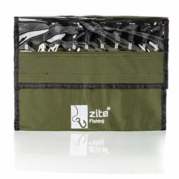 Zite Fishing T-Pegs Zelt-Heringe Angeln & Camping - 10 STK Massive Stahl-Erdnägel für Angelzelte Bivvy & Camping-Zelte - 3