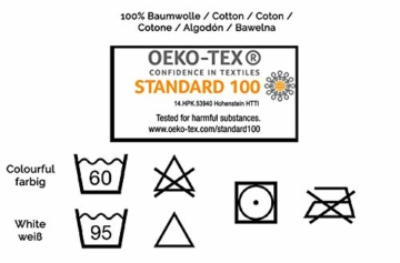 ZOLLNER 10er Set Handtücher, 50x100 cm, 100% Baumwolle, 450g/qm, weiß - 7