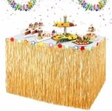 ZOOI Hawaii Deko - Hawaii Party Deko Tischrock Beach Deko, Festival Gadget & Ausrüstung für Hawaii Dekoration Party, Garten Party Deko, Dschungel Deko, Tropicaldeko, Beach Party Dekoration - 1